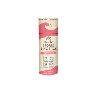 Stick protecție solară rezistentă cu oxid de zinc SPF 30 – Roșu retro SUNTRIBE