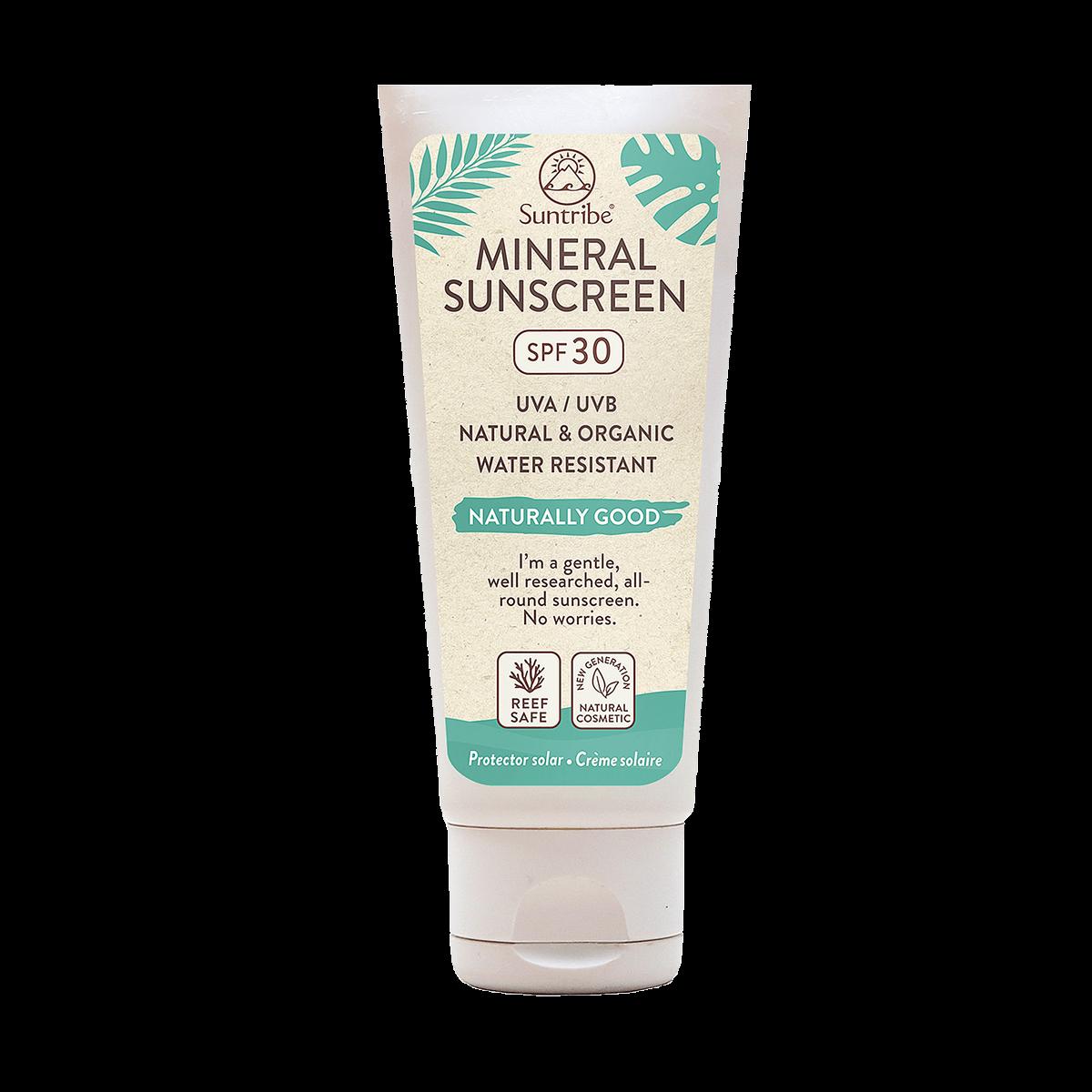 100 ml Mineral Body & Face Sunscreen SPF 30 Suntribe